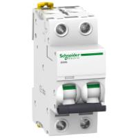 Модульний автоматичний вимикач iC60N 2P 3A C
