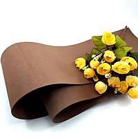 Фоамиран Китай коричневый, 1/2 м, толщина 1 мм, фото 1