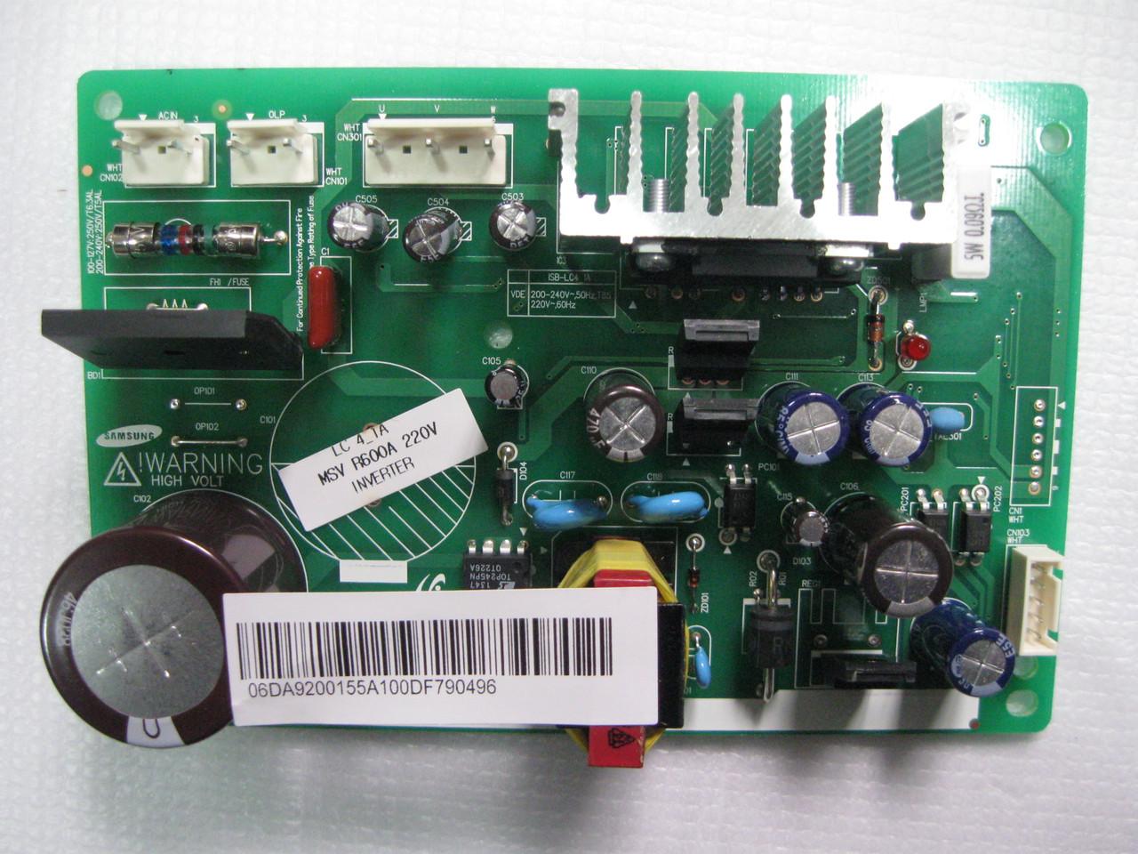Плата управления холодильника Samsung DA92-00155A