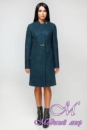Женское осенне пальто (р. 44-58) арт. 1112 Тон 4, фото 2