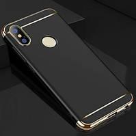 Чехол с золотыми вставками для Xiaomi Redmi Note 5 / Note 5 Pro (2 Цвета)
