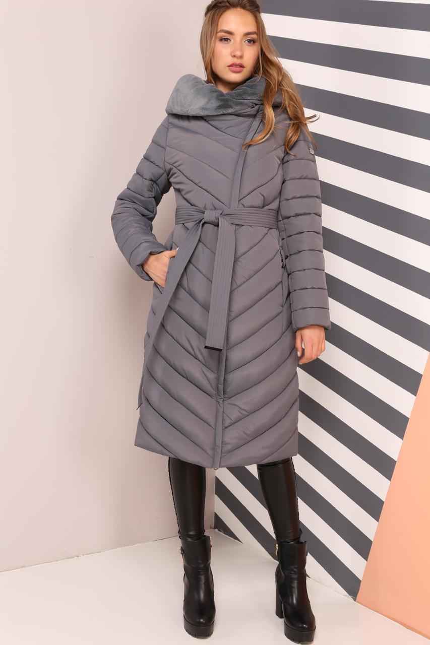 Красивое зимнее пальто женское
