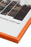 Фоторамка из пластика Оранжевый - для грамот, дипломов, сертификатов, фото, вышивок!, фото 2