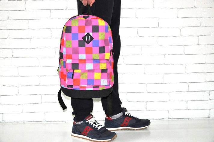 Рюкзак спортивный, розовый, фото 2