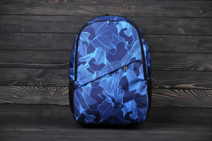 Рюкзак спортивный, синий, фото 2