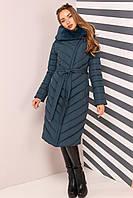 Зимнее пальто с мехом мутона, фото 1