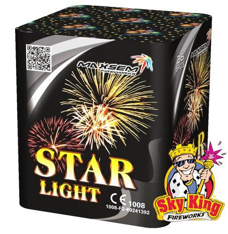 Cалют STAR LIGHT 20мм. 25 выстр. Пиротехника и фейерверки
