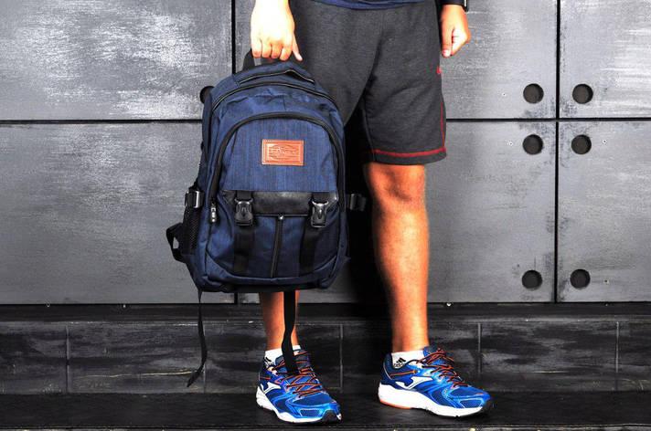 Рюкзак спортивный, темно-синий, фото 2