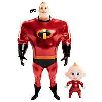 Набор кукол Суперсемейка 2: Мистер Невероятный и Джек-Джек Incredibles 2