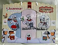 Полотенца кухонные вафельные - Juanna - Restaurant - 3шт. 45*70 -100% хлопок - Турция - (kod 1213)