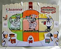 Полотенца кухонные вафельные - Juanna - Restaurant - 3шт. 45*70 -100% хлопок - Турция - (kod 1214)
