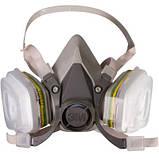 Фильтр от органических паров 3M™ 6051, класса А1 для масок серии 6000/7000, фото 2