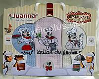 Полотенца кухонные вафельные - Juanna - Restaurant - 3шт. 45*70 -100% хлопок - Турция - (kod 1215)
