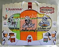 Полотенца кухонные вафельные - Juanna - Restaurant - 3шт. 45*70 -100% хлопок - Турция - (kod 1216)