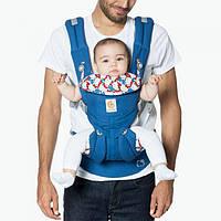 814828b28af7 Эрго рюкзак переноска для детей от 0 до 3 лет OMNI 360 Hello Kitty синий +