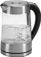 Електричний чайник Clatronic WK 3501 G скляний 1,7 л Німеччина, фото 1