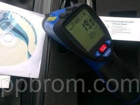 ИК термометр - регистратор температуры