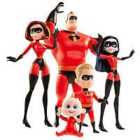 Набор Де Люкс из 5 кукол Суперсемейка 2 /The Incredibles 2