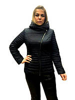 Женская демисезонная куртка-косуха  Lusskiri 6163 M, L, XL, 2XL , 3XL, 4XL, осень весна, фото 1