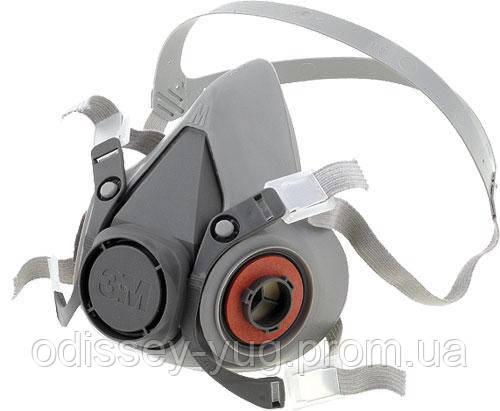 Полумаска противогазовая 3M™ серии 6000, без фильтра. 6300, 6200, 6100
