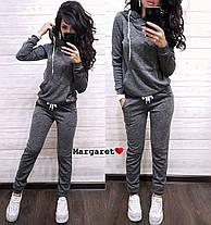 Костюм женский, кофта с капюшоном и штаны, размеры С и М, фото 3