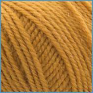 Пряжа для вязания Valencia Arizona, 97% полированная шерсть, 3% кашемир 111, цвет горчичный
