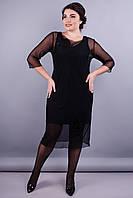 Платье Аура черный