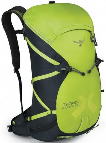 Надёжный альпинистский рюкзак на 26 л. Osprey Mutant 28 S/M зеленый