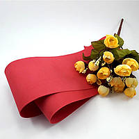 Фоамиран Китай красный, 1/2 м, толщина 1 мм