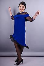Платье Лика электрик