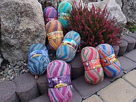 8 новых расцветок носочной немецкой пряжи OPAL.