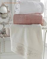 Набор полотенец с вышивкой и стразами, Eke Home MELISS  2 шт.