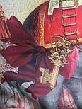 Палантин шерстяной 10497-2, павлопосадский шарф-палантин из разреженной шерсти, фото 6