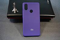 Чехол бампер силиконовый Xiaomi Mi 8 SE Ксиоми Сяоми цвет фиолетовый Soft-touch