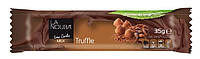 Батончик молочный шоколад Трюфель без сахара