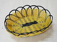 Корзина Empire  для хлеба 18,5х15 см h5 см пластик (9781 EM)