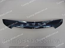 Дефлектор на капот Chevrolet Cruze (2009-) короткий (Шевролет Круз)
