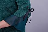 Платье Чеслава изумруд , фото 4