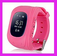 Детские часы с GPS Smart Baby Watch Q50 розовый