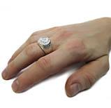 Срібний перстень Георгій Побідоносець / Mz 040п, фото 2