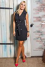 Женское платье без рукавов с поясом (Мелани mrb), фото 3
