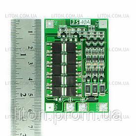 Контролер живлення BMS 3S-40A (LiFePo4)