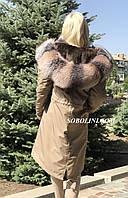 Парка женская, утеплитель-испанский кроль