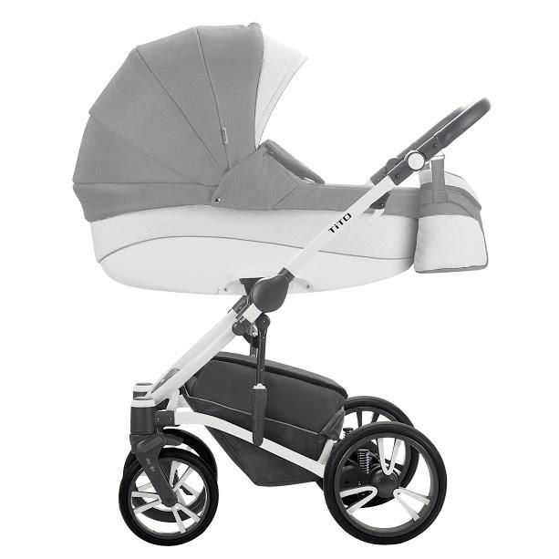 Детская универсальная коляска 2 в 1 Bebetto Tito S-Line CH02