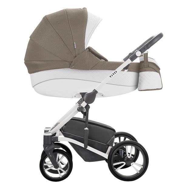 Детская универсальная коляска 2 в 1 Bebetto Tito S-Line CH03