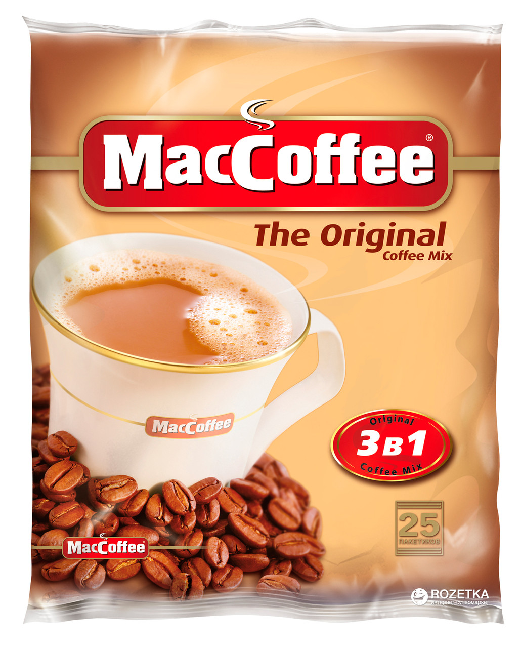 ''MacCoffee'' 3 в 1 Классик 25шт