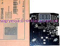 Дисплей/ интерфейс/ плата индикации (ф.у, EU) котлов газовых Ariston Clas, артикул 65104448, код запчасти 0155