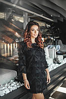 Модное платье  / креп-шифон / Украина 36-3851, фото 1