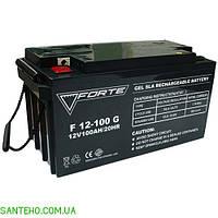 Гелевый аккумулятор FORTE F12-100G