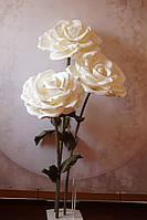 Большие цветы Куст Интерьерных Роз на стойке